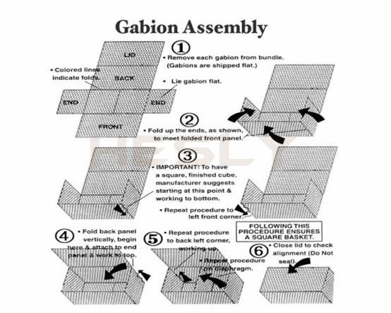 assemble middle plates