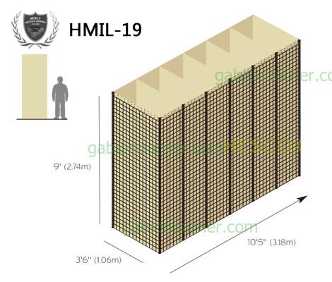 MIL 1.9 Defensive Barrier Units
