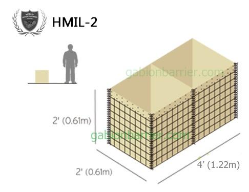 Mil 2 HESCO Defensive Barrier Exporter